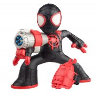MARVEL SPIDER-MAN INTO THE SPIDER-VERSE SHOCK STRIKE MILES MORALES SPIDER-MAN Figure - oop.jpg