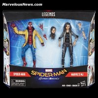 Marvel Spider-Man Homcoming Legends Series 6-Inch Spider-Man and MJ Figures in pck.jpg